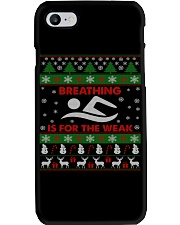 SWIMMING UGLY CHRISTMAS SWEATER SWIMMER XMAS GIFT Phone Case thumbnail