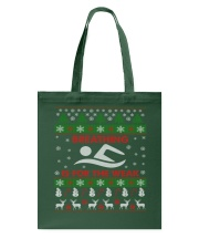 SWIMMING UGLY CHRISTMAS SWEATER SWIMMER XMAS GIFT Tote Bag thumbnail