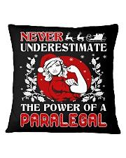 PARALEGAL UGLY CHRISTMAS SWEATER PARALEGAL XMAS  Square Pillowcase thumbnail