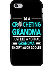 CROCHETING GRANDMA IS MUCH COOLER Phone Case thumbnail