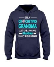 CROCHETING GRANDMA IS MUCH COOLER Hooded Sweatshirt thumbnail