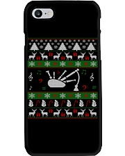 BAGPIPE UGLY CHRISTMAS SWEATER Phone Case thumbnail