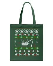 BAGPIPE UGLY CHRISTMAS SWEATER Tote Bag thumbnail