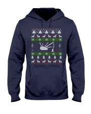 BAGPIPE UGLY CHRISTMAS SWEATER Hooded Sweatshirt thumbnail