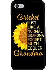 GRANDMOTHER GIFT COOL CRICKET GRANDMA Phone Case thumbnail
