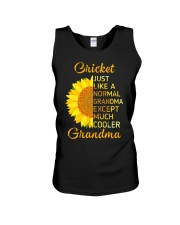 GRANDMOTHER GIFT COOL CRICKET GRANDMA Unisex Tank thumbnail