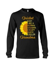 GRANDMOTHER GIFT COOL CRICKET GRANDMA Long Sleeve Tee thumbnail