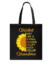 GRANDMOTHER GIFT COOL CRICKET GRANDMA Tote Bag thumbnail