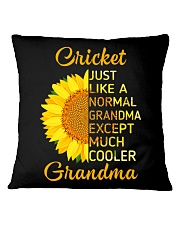 GRANDMOTHER GIFT COOL CRICKET GRANDMA Square Pillowcase thumbnail