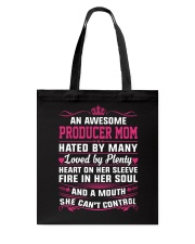 AWESOME PRODUCER MOM Tote Bag thumbnail