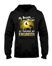 Engineer 2018 Halloween Costumes Hooded Sweatshirt thumbnail