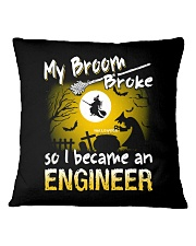 Engineer 2018 Halloween Costumes Square Pillowcase thumbnail