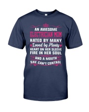 AWESOME ELECTRICIAN MOM Premium Fit Mens Tee thumbnail