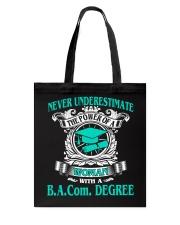 BACom DEGREE BEST 2018 GRADUATION Tote Bag thumbnail