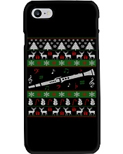 CLARINET UGLY CHRISTMAS SWEATER NEW Phone Case thumbnail