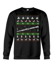CLARINET UGLY CHRISTMAS SWEATER NEW Crewneck Sweatshirt thumbnail