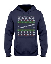 CLARINET UGLY CHRISTMAS SWEATER NEW Hooded Sweatshirt thumbnail