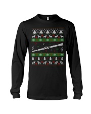 CLARINET UGLY CHRISTMAS SWEATER NEW Long Sleeve Tee front