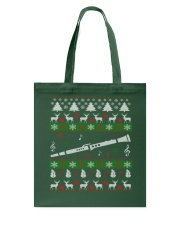 CLARINET UGLY CHRISTMAS SWEATER NEW Tote Bag thumbnail