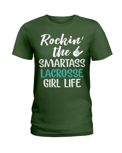 ROCKING THE SMARTASS LACROSSE GIRL LIFE