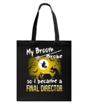 Final Director 2018 Halloween Costumes Tote Bag thumbnail