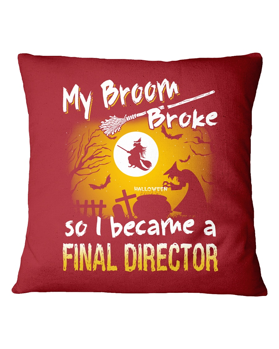 Final Director 2018 Halloween Costumes Square Pillowcase
