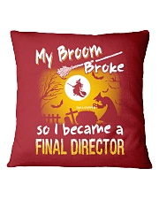 Final Director 2018 Halloween Costumes Square Pillowcase front