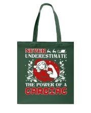 Cardiac UGLY CHRISTMAS SWEATER Tote Bag thumbnail