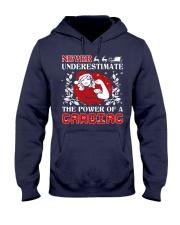 Cardiac UGLY CHRISTMAS SWEATER Hooded Sweatshirt thumbnail