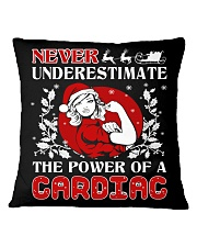 Cardiac UGLY CHRISTMAS SWEATER Square Pillowcase thumbnail