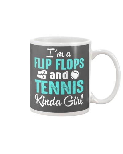 FLIP FLOPS AND TENNIS KINDA GIRL