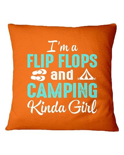 FLIP FLOPS AND CAMPING KINDA GIRL