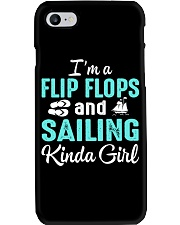 FLIP FLOPS AND SAILING KINDA GIRL Phone Case thumbnail