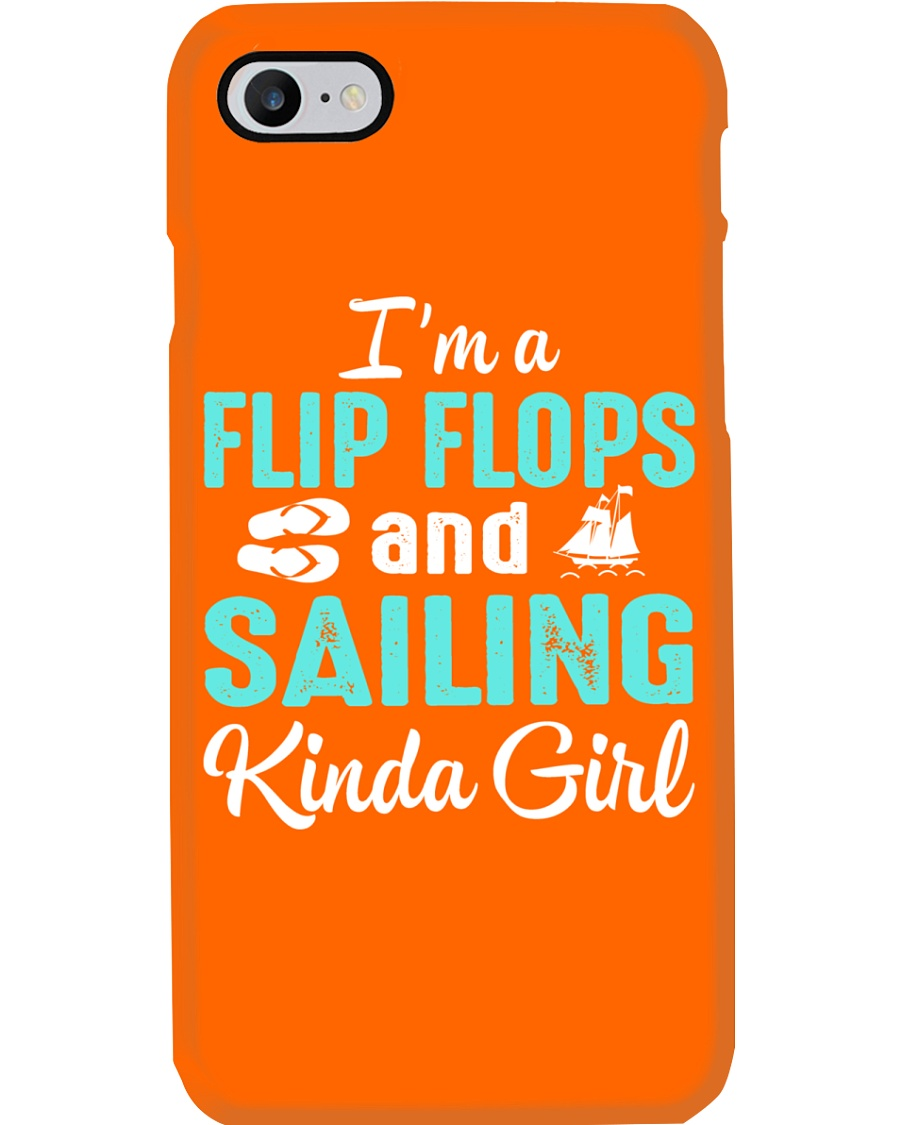 FLIP FLOPS AND SAILING KINDA GIRL Phone Case