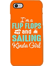 FLIP FLOPS AND SAILING KINDA GIRL Phone Case i-phone-7-case