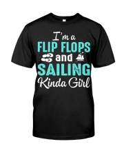 FLIP FLOPS AND SAILING KINDA GIRL Classic T-Shirt thumbnail