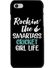ROCKING THE SMARTASS CRICKET GIRL LIFE Phone Case thumbnail