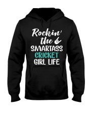 ROCKING THE SMARTASS CRICKET GIRL LIFE Hooded Sweatshirt thumbnail