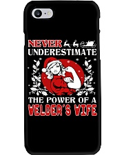 Welder's Wife UGLY CHRISTMAS SWEATER Phone Case thumbnail