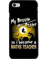 MATHS TEACHER 2018 HALLOWEEN COSTUMES Phone Case thumbnail