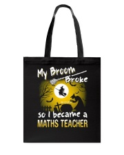MATHS TEACHER 2018 HALLOWEEN COSTUMES Tote Bag thumbnail
