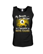 MATHS TEACHER 2018 HALLOWEEN COSTUMES Unisex Tank thumbnail