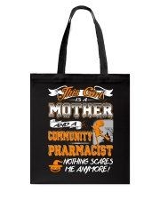Community Pharmacist Mother 2018 Halloween Costume Tote Bag thumbnail