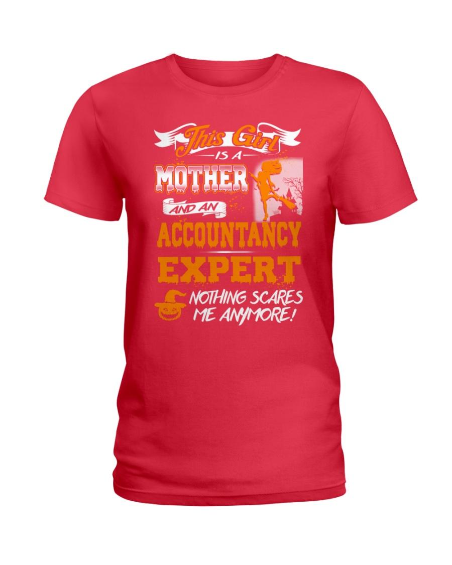 Accountancy Expert Mother 2018 Halloween Costume Ladies T-Shirt