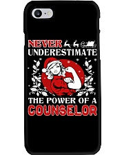 COUNSELOR UGLY CHRISTMAS SWEATER Phone Case tile