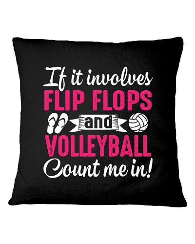 I LOVE FLIP FLOPS AND VOLLEYBALL MEN WOMEN GIFT