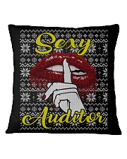 SEXY AUDITOR UGLY CHRISTMAS SWEATER AUDITOR XMAS Square Pillowcase thumbnail
