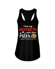 FUNNY SHIRT FOR GIRLFRIEND - PIZZA Ladies Flowy Tank thumbnail