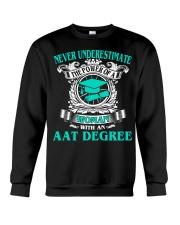 AAT DEGREE BEST GRADUATION Crewneck Sweatshirt thumbnail