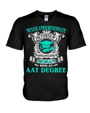 AAT DEGREE BEST GRADUATION V-Neck T-Shirt thumbnail